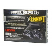 Sega Super Drive 2 Classic HDMI (220-in-1) Black (4)